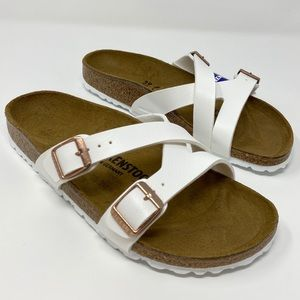 Birkenstock Sandal 'Yao Hex' shoes White size 39